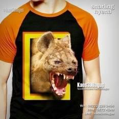 Kaos HYENA, Kaos3D, Kaos BINATANG, Animal Lover, Wild Animal