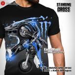 Kaos Seragam Klub Motocross, Kaos Gambar MOTOCROSS, Kaos Gambar Motor Trail