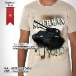 Kaos Gambar TANK, Kaos TENTARA, Military T-shirt, Kaos3D