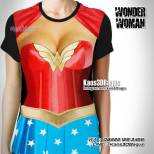 Kaos WONDER WOMAN Sexy, Kaos3D, Kaos Superhero, Kaos Kostum Wonder Woman