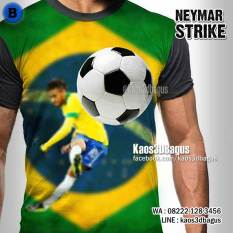 Kaos NEYMAR , Kaos3D Bola, Kaos BRAZIL