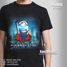 Kaos MINION, Kaos Film Despicable Me, Kaos Ultah Anak MINION, Kaos3D, Kaos 3D Bagus, Kaos 3D Umakuka, Man Of Steel
