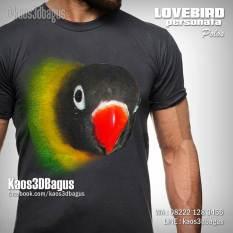 Kaos GAMBAR BURUNG, Kaos LOVEBIRD, Kaos 3D, Kicau Mania, WA : 08222 128 3456, LINE : kaos3dbagus, https://instagram.com/kaos3dbagus