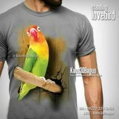 Kaos LOVEBIRD, Kaos Gambar BURUNG, Kaos KICAU MANIA, Kaos Klub Pecinta Lovebird, Kaos 3D Burung Lovebird, Kaos3D, Umakuka, Kaos 3D Bagus, http://instagram.com/kaos3dbagus, WA : 08222 128 3456, LINE : kaos3dbagus
