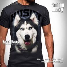 Kaos Gambar Anjing Husky, Siberian Husky Tshirt, Kaos Dog Lovers