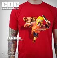Kaos BARBARIAN, Kaos 3D, Kaos COC, Clash Of Clans, https://www.facebook.com/kaos3dbagus, WA : 08222 128 3456, LINE : @kaos3dbagus