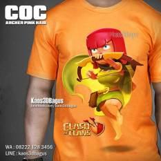 Kaos 3D, Kaos Archer, Clash Of Clans, Tokoh COC, WA : 08222 128 3456, LINE : @kaos3dbagus, https://instagram.com/kaos3dbagus
