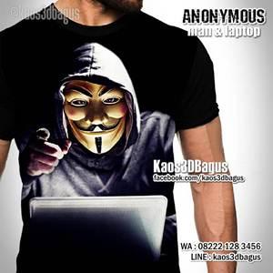 Kaos ANONYMOUS - Kaos3D - Hacker - FP