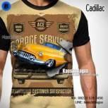 Kaos CADILLAC - Mobil Klasik - Kaos3D Mobil - FPB