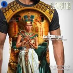 Kaos CLEOPATRA - Kaos 3D Full Print - Grosir