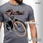 Kaos SEPEDA ONTHEL, Kaos3D, Sepeda Jawa