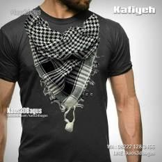 Kaos Gambar Sorban Muslim, Kaos Muslim, Kaos Scarf, Kaos3D
