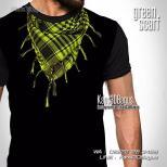 Kaos Tema Lebaran, Kaos Gambar Sorban, Palestina, Kaos 3 Dimensi