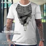 Kaos Syal Muslim Pria, Kaos3D, Scarf, Kaos Gambar Sorban