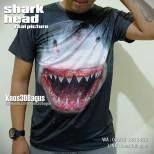 Kaos SHARK, Shark Lover 3D T-shirt, Kaos ANIMAL, Kaos 3D Gambar Nyata