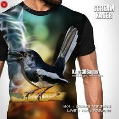 Kaos Komunitas Burung, Kaos Kicau Mania, Kaos Gambar Burung, Kacer Mania
