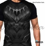 GROSIR KAOS 3D MURAH - Black Panther Suit