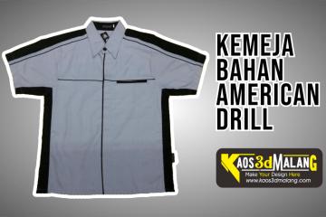 Kemeja Bahan American Drill - Malang
