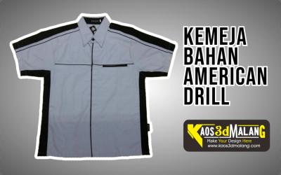 Kemeja Bahan American Drill – Malang