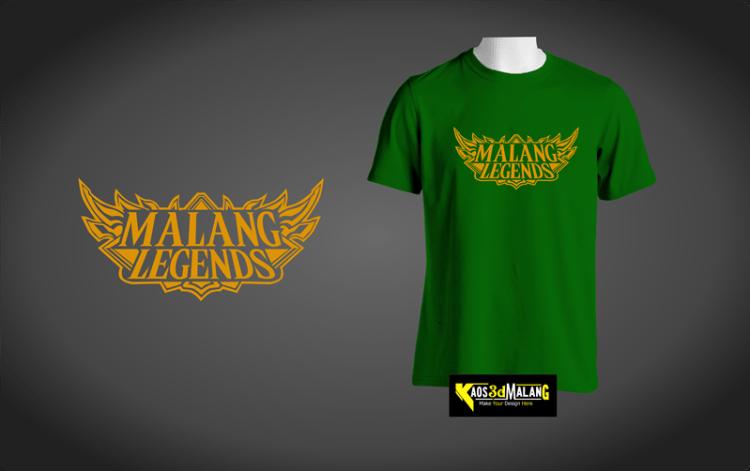 Kaos Malang Legends - Model Mobile Legend