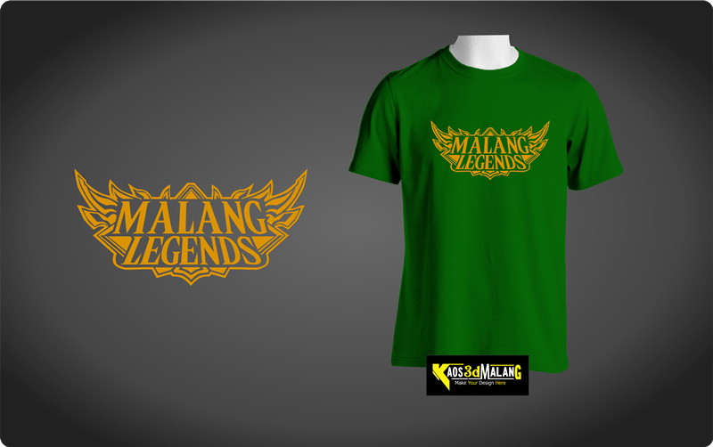 Kaos Malang Legends – Model Mobile Legend