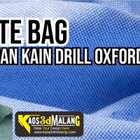 Tote Bag Bahan Kain Drill Oxford