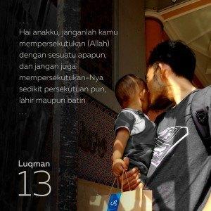 Gambar Dakwah Luqman 13