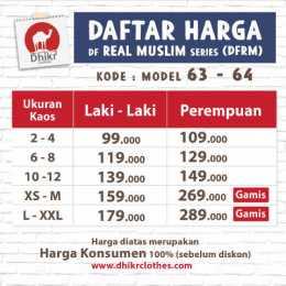 63 64 daftar harga real muslim