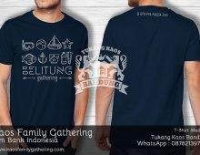 Kaos Family Gathering Bank Indonesia