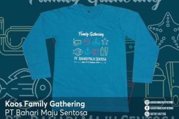 Kaos Family Gathering PT Bahari Maju Sentosa goes to Anyer 2