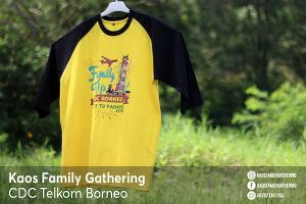 Kaos Family Gathering CDC Telkom Borneo 2