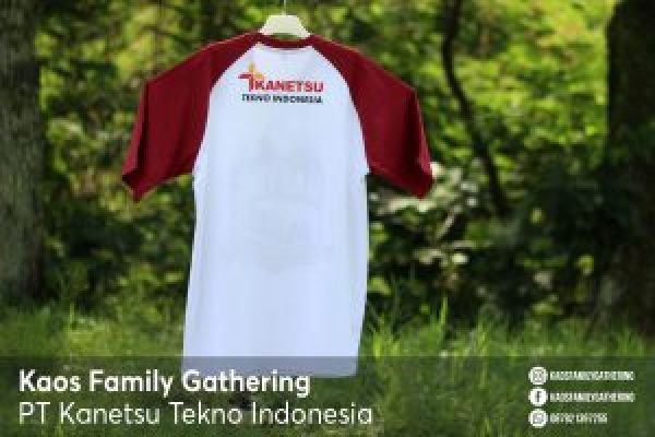 Kaos Family Gathering PT Kanetsu Tekno Indonesia 4