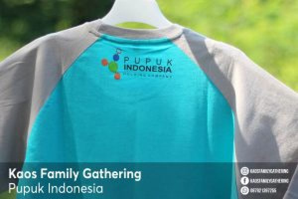 Kaos Family Gathering Pupuk Indonesia 3