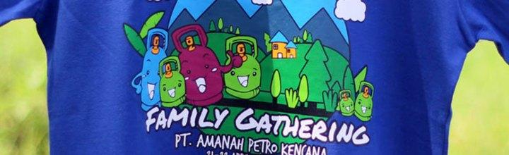 Kaos Family Gathering PT Amanah Petro
