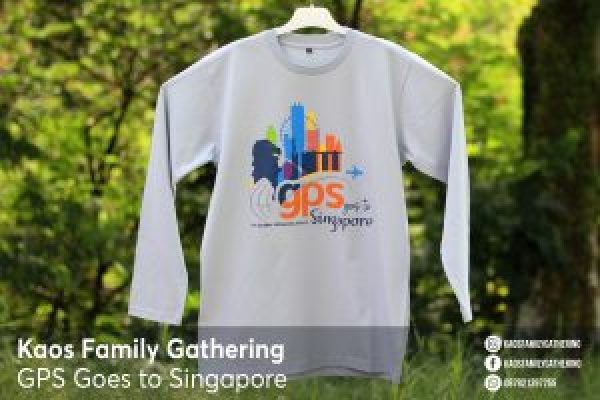 Kaos Family Gathering GPS to Singapore 3