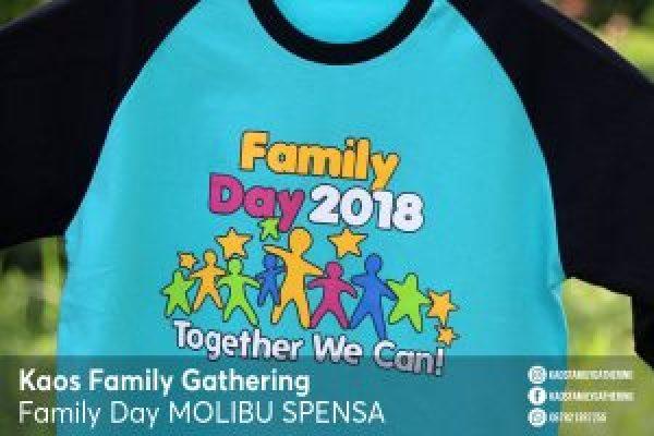 Kaos Family Day Molibu SPENSA 2018 3