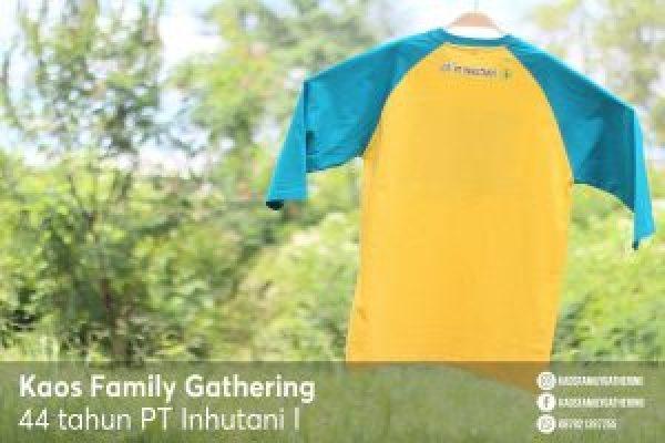 Kaos Family Gathering PT INHUTANI I 4