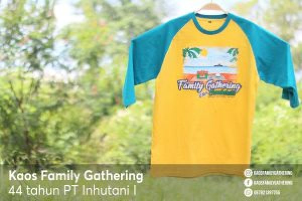 Kaos Family Gathering PT INHUTANI I 1