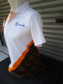Polo Shirt Batik Bank BRI