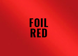 Cutting Polyflex Foil Red