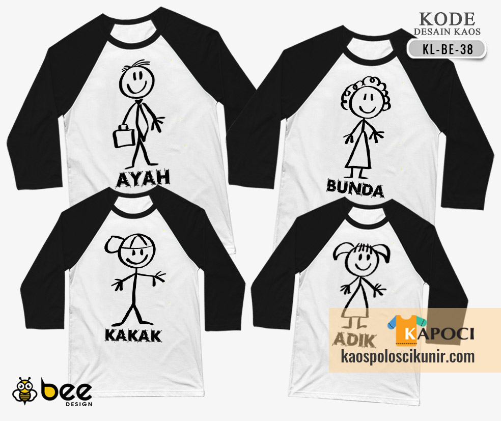 Kaos Couple Family Terbaru