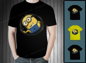 kaos 3D minion in the black hole