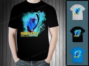 Kaos kicaumania murai batu on blue fire