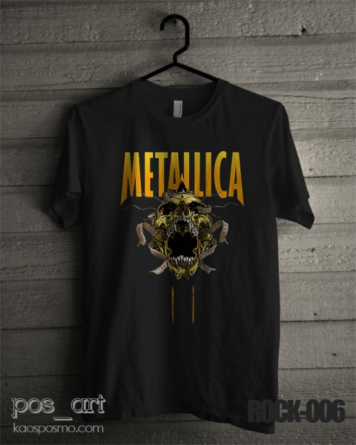 kaos rock n roll #6 metallica scream 2