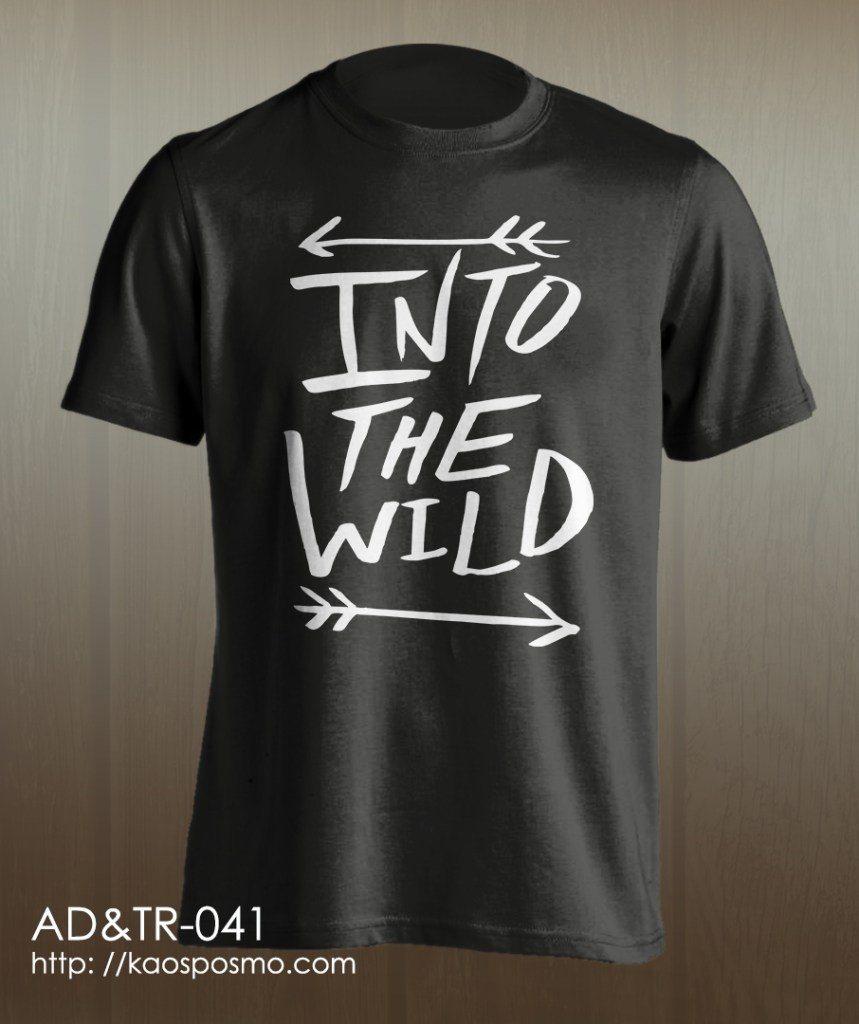 kaos adventure dan traveling: into the wild #2.