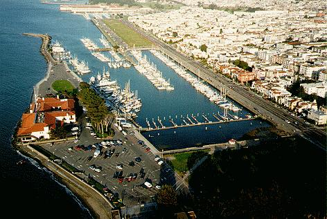 Kite Aerial Photography The St Francis Yacht Club