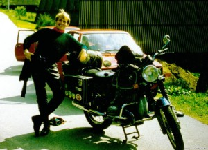 """Die erste """"richtige"""" Maschine Ich höre die Kawa-Suzi-Honda-Fraktion schon lachen, aber trotzdem: mit der R75/7 hatte mich der BMW-Virus gepackt. Ich wollte nie tauschen!"""