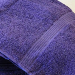 Violet Bath Towel