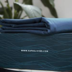 Fitted sheet - Navy blue with box Malaysia