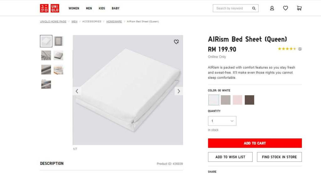 Bed-sheets-Airism